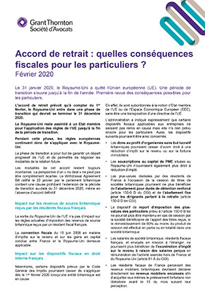 Accord de retrait
