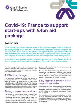 Covid-19: France to support start-ups with €4bn aid package